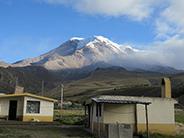 The Chimborazo Volcano from the indigenous community of Pulingui San Pablo.