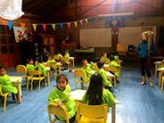 Children at the Inti Sisa Foundation school in Guamote.