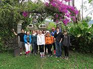 The class at La Hesperia Biological Station near Tandapi.