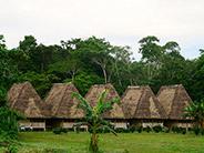 A school in the Añangu Community along the Napo River.