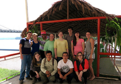 Group photo of the Ecuador study abroad travelers.