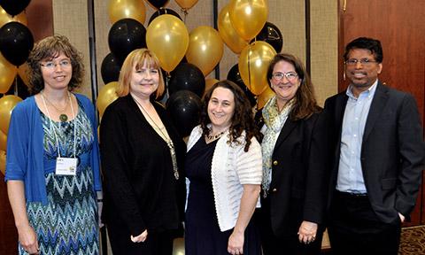 Five of the last six Boyer Award winners—Sarah Bush, Bethany Stone, Anne Alexander, Betsy Baker and Newton D'Souza—are MU facultymembers.