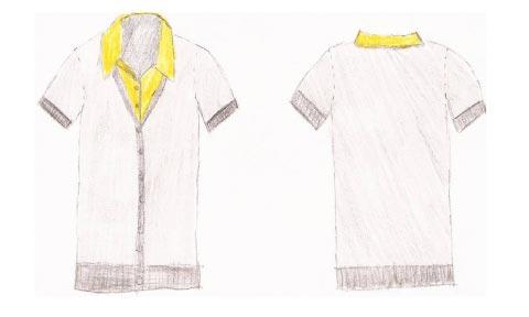 Student fashion drawings