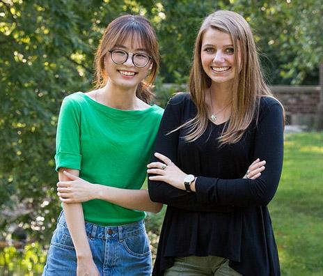 Meiqi Yuan and Sera Holland