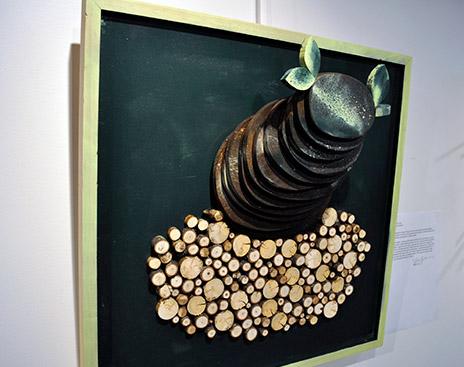 Meiqi Yuan's 3D Wood Relief