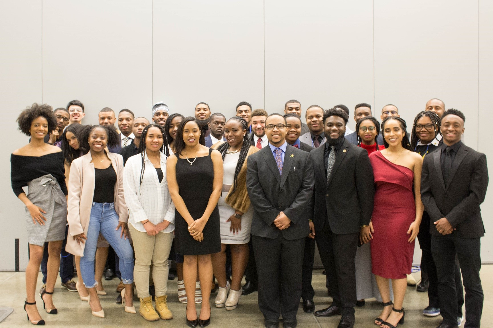 Members of NSBE at conference