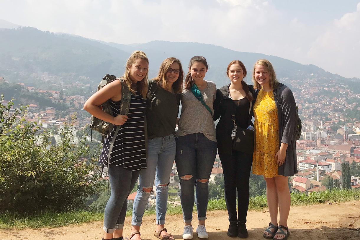Students in Bosnia
